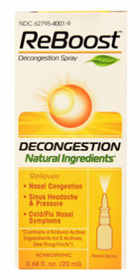 reboost decongestion spray