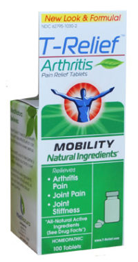t-relief pain relief tablets