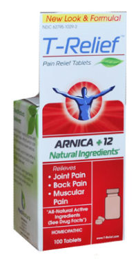 t-relief pain relief tablets arnica